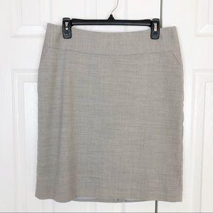 Banana Republic Factory wool blend pencil skirt